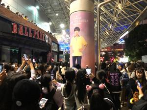 BTSのライブに集まったファン