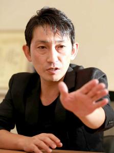 6日に復帰することを発表した福田こうへい