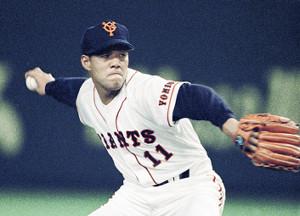 90年代に伝統の背番号11を背負った斎藤雅樹