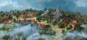 TDL大規模開発の完成イメージ(C)Disney