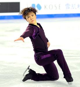 男子SPで2位となった宇野昌磨