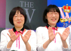 「阿佐ケ谷姉妹」の渡辺江里子(左)木村美穂