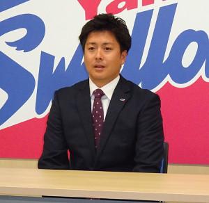 350万円増の2100万円でサインしたヤクルト・中沢