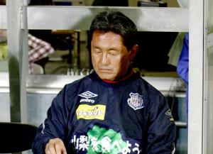 甲府の新ヘッドコーチに就任する内田一夫元監督