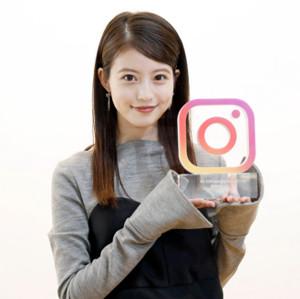 「Instagram MVI 2018トレンド部門」を受賞した今田美桜