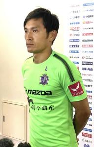 アジア杯日本代表に選ばれた広島の青山