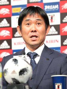 アジア杯の日本代表発表会見を行った森保一監督