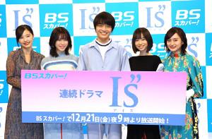 (左から)加藤小夏、白石聖、岡山天音、柴田杏花、萩原みのり