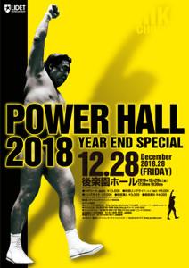 12・28後楽園のポスター