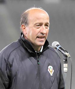 C大阪の新監督就任が決まったロティーナ氏。今季は東京Vを率いた