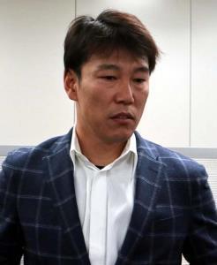 2018年度学生野球資格回復制度NPBプロ研修会に出席した前巨人コーチの井端弘和