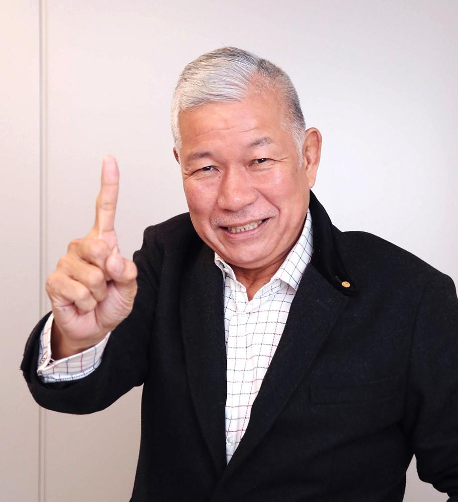 神戸製鋼優勝を祝福した大八木淳史さん