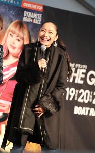 トークショーで会場をわかせたプロスケーターの安藤美姫(カメラ・谷口 健二)