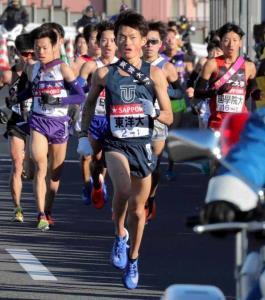 第94回大会、1区をトップで駆け抜けた東洋大・西山和弥(18年1月)