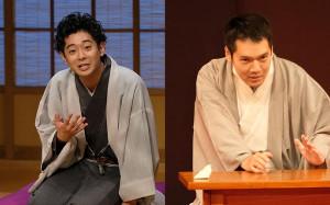 柳亭小痴楽(左)と神田松之丞