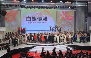 平成最後の紅白歌合戦は白組が勝利