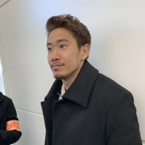羽田空港からドイツに出国したドルトムントのMF香川真司