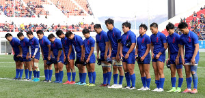 東福岡に完敗して肩を落とす長崎北陽台の選手たち