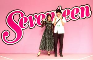 昨年8月、広瀬すずの「セブンティーン」卒業式で2人そろって記念撮影