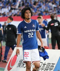 現役引退を決めた横浜M・中沢佑二