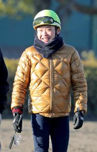 今週から復帰する山田敬士騎手(カメラ・池内 雅彦)