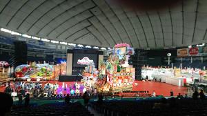 東京ドームで開催された「ふるさと祭り」のプレスプレビュー