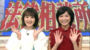 テレビ初共演となった生駒里奈と日本テレビ・市來玲奈アナウンサー(C)日本テレビ