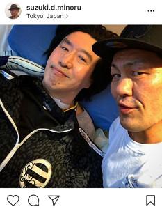 インスタグラムより@suzuki.d.minoru