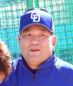 中日・伊東ヘッドコーチ