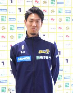 栃木に入団が決定し、会見を行った日本代表の比江島慎