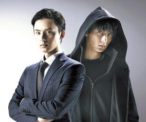 1人2役で双子を演じる藤ケ谷太輔