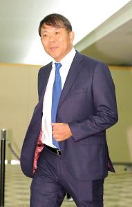 12球団監督会議に出席するオリックス・西村徳文監督