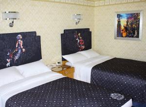 ディズニーアンバサダーホテルの「キングダム ハーツ」スペシャルルーム