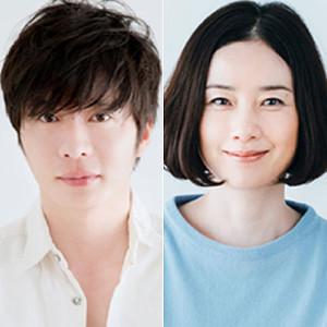 年の差新婚夫婦を演じる田中圭(左)と原田知世