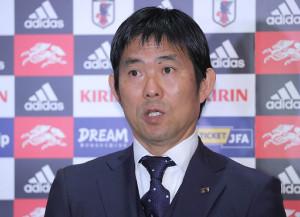 日本代表の森保監督