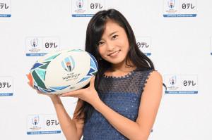 2019年ラグビーW杯の応援マネージャーに就任する小島瑠璃子