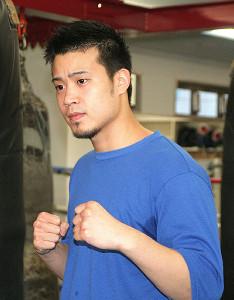 4月5日のプロ11戦目へ意気込む辰吉寿以輝