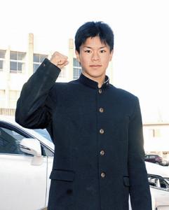 大学での飛躍を誓う常葉大菊川・根来