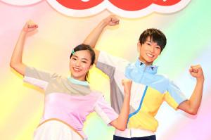 「おかあさんといっしょ」新体操のお姉さん・秋元杏月と新体操のお兄さん・福尾誠