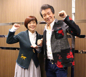 新歌舞伎座60周年特別公演で共演する前川清と神野美伽