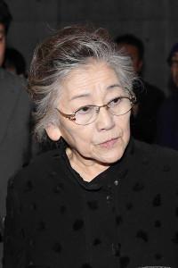 1月30日、角替和枝さんのお別れ会に参列した佐々木すみ江さん