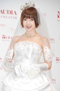 結婚していたことが明らかになった篠田麻里子