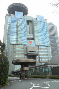 東京・港区のTBS
