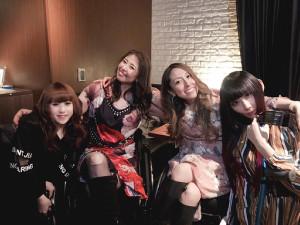 「Wの悲喜劇」に出演した(左から)内藤沙月、梅津絵里、中嶋涼子、遠山涼音
