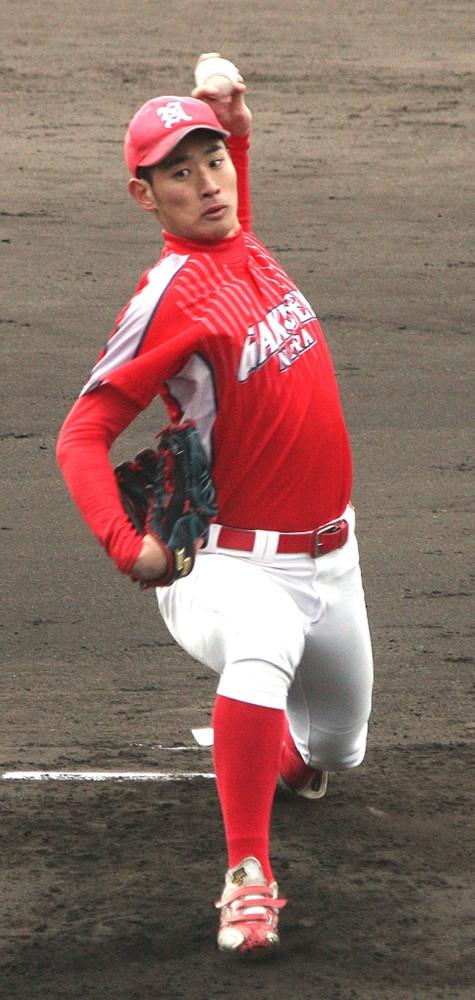 今季初登板で5回7失点の奈良学園大・菅田