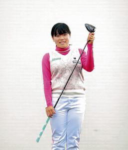 「世界一愛されるゴルファーになる」と目標を掲げる勝みなみ (カメラ・小泉 洋樹)
