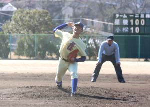 147キロをマークした星稜・奥川(カメラ・勝田 成紀)