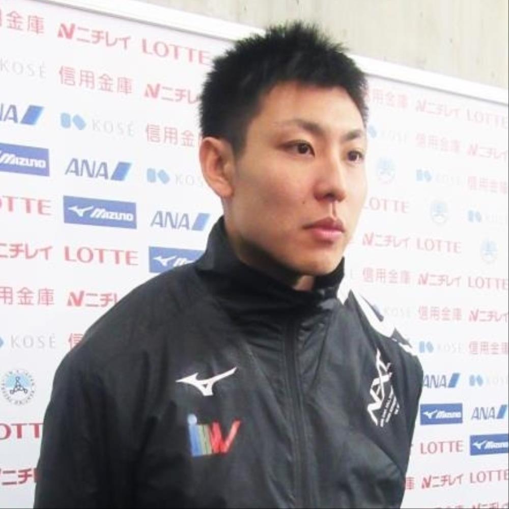 新浜立也、33秒83日本新で2位 男...