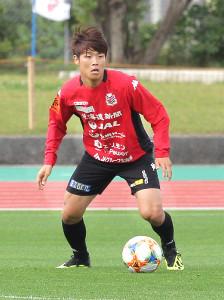 U―22日本代表に選出された岩崎悠人