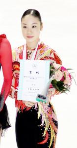 中野友加里さん(09年全日本選手権)